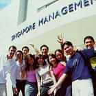 2001-08-28: Students at Evans Rd campus
